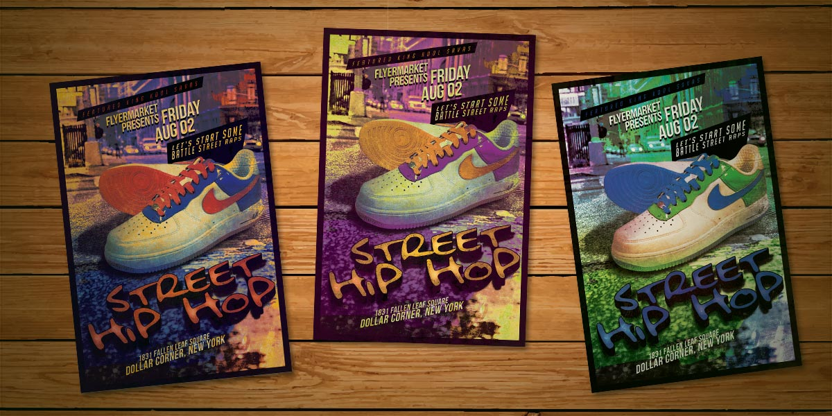 Street Hiphop Flyer Template